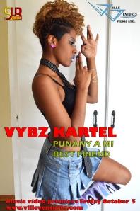 vybx kartel punay ah mi best friend poster