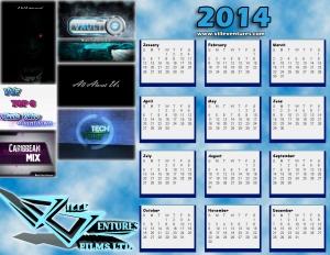 Ville Ventures 2014 Calendar