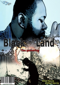 black land comic cover