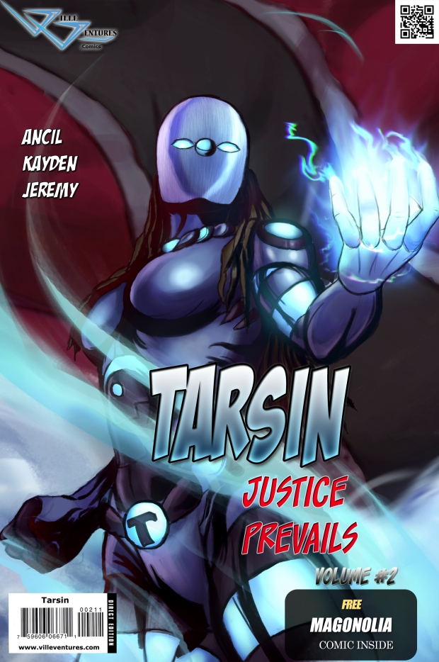 tarsin comic cover #2