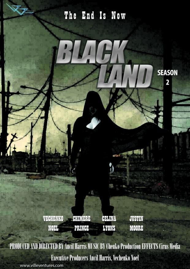 Black Land season 2 poster